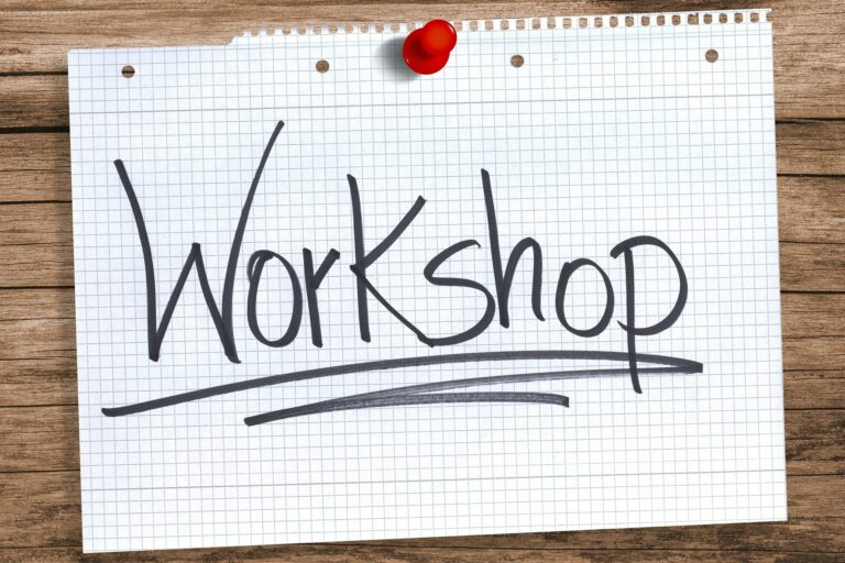 Workshop für Ehrenamtliche